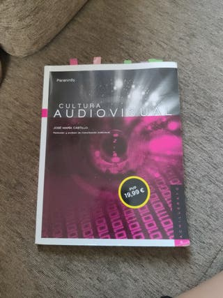 Libro cultura audiovisual bachillerato artistico