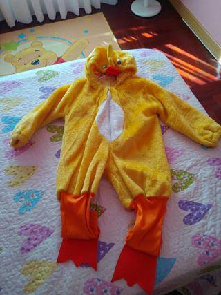 Disfraz de Pato de 1 a 3 años