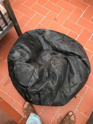 Bean bag para interior exterior grande x2