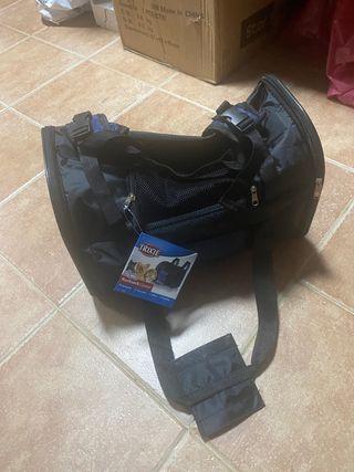 Mochila maletín porta animales
