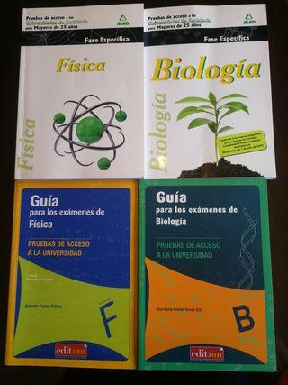 Libros de Física y Biología mayores 25