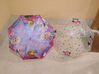 Paraguas niña pequeña