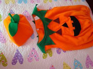 Disfraz de Calabaza. Disfruta de Halloween!