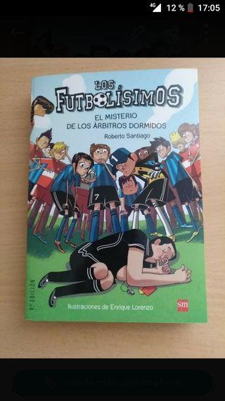 Libro Los futbolisimos n° 1.
