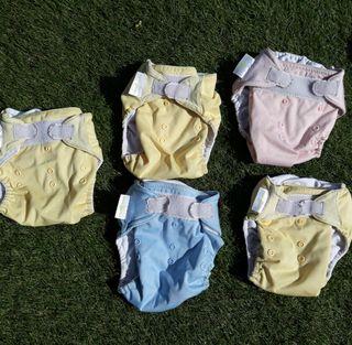 Pañales lavables, ecologicos
