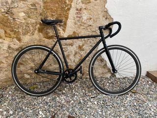 Bicicleta fixie freno contrapedal