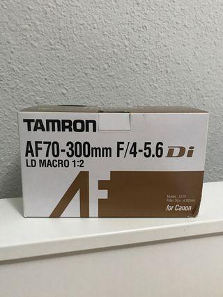 Objetivo Tamron AF70-300mm para Canon