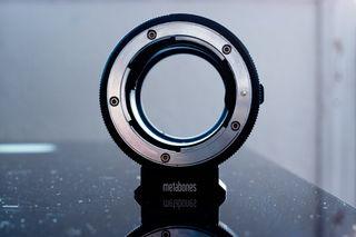 Adaptador Metabones Fuji X mount to Canon