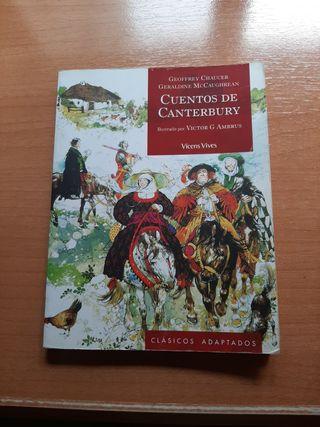 Vendo Libro Cuentos de Canterbury