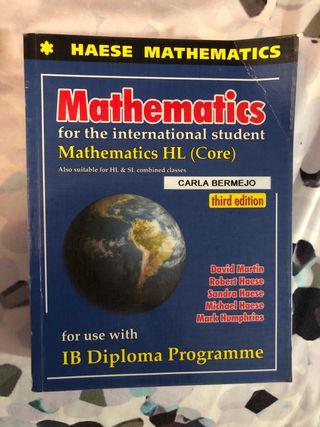 Libro Matemáticas Nivel Superior (HL) y SL IB