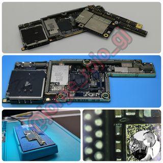 reparación placa base iphone X, Xs, 11, 11 Pro...