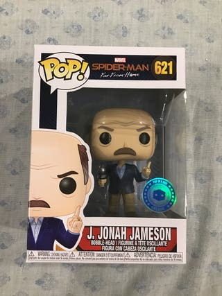 Funko pop J.Jonah Jameson exclusive pop in a box