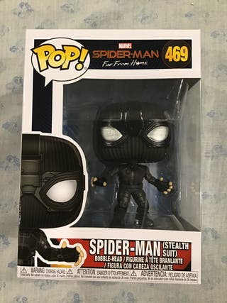 Funko pop Spider Man Stealth Suit