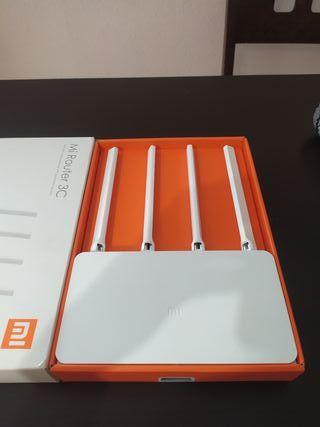 Router Xiaomi 3C Mi - 4 Antenas ¡Muy potente!