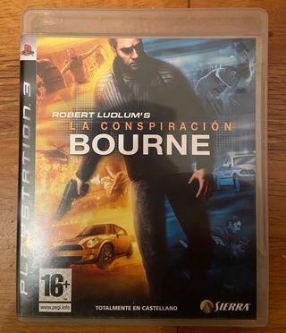 La conspiración de Bourne. PlayStation 3