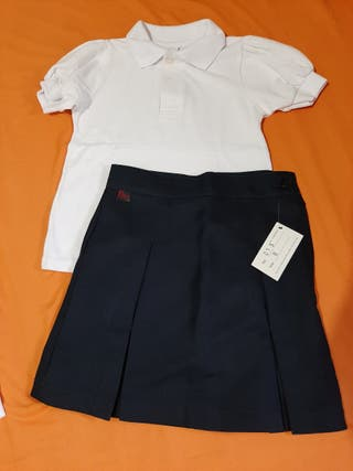 TALLA 6 NUEVO Uniforme escolar