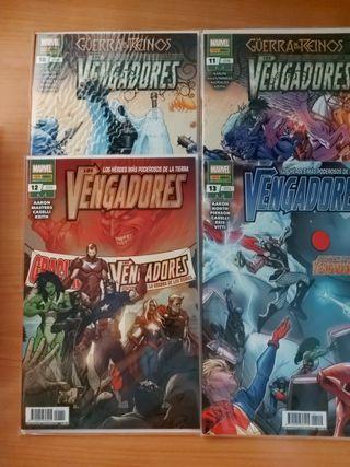 Los Vengadores 1-13