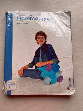 Llibre de matemàtiques 2 eso