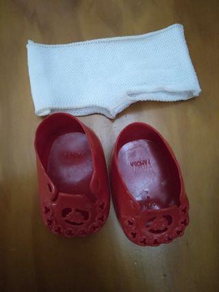 Nenuco Zapatos rojos y Braguitas años 70