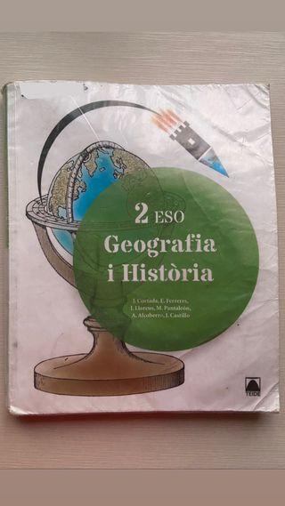 Llibre de geografia i història 2 eso