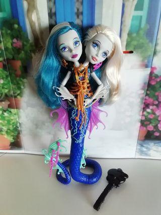 muñeca moster high Peri y Pearl