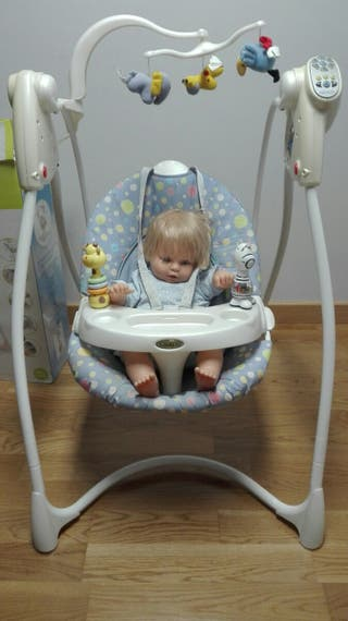 Columpio balancin automático bebe GRACO