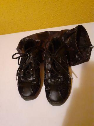 Zapatillas niño baile moderno y urbano jazz