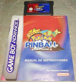 Pokemon Pinball GBA
