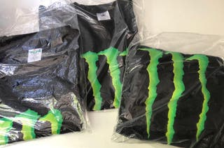 Camisetas monster energy ORIGINALES
