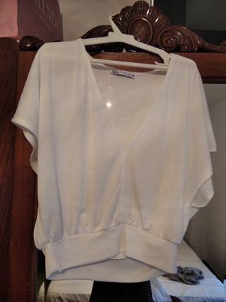 Camiseta blanca Zara