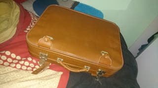 Pareja maletas vintage
