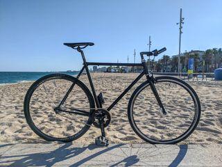 Bicicleta Fixie, piñón fijo