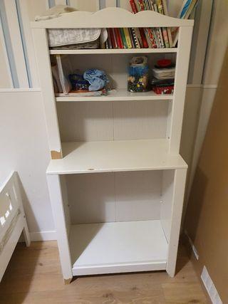 mueble armario cambiador Ikea para cuarto niños