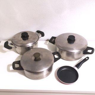 Batería de cocina 7 piezas
