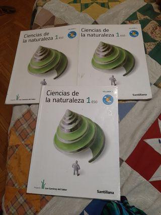 ciencias de la naturaleza 1ESO Edit Santillana