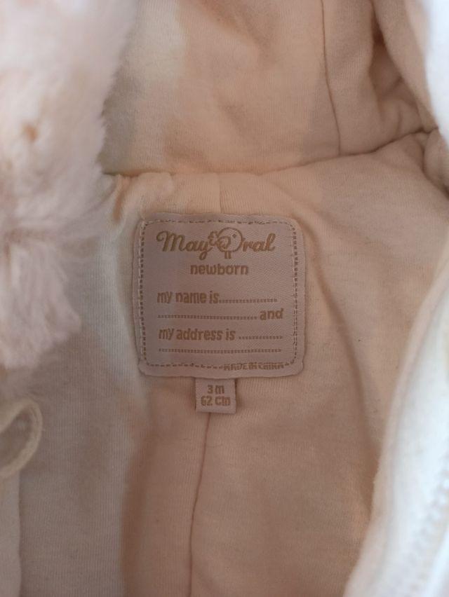 Mono bebé mayoral 3 meses
