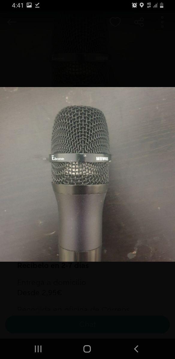 microfono t.bone