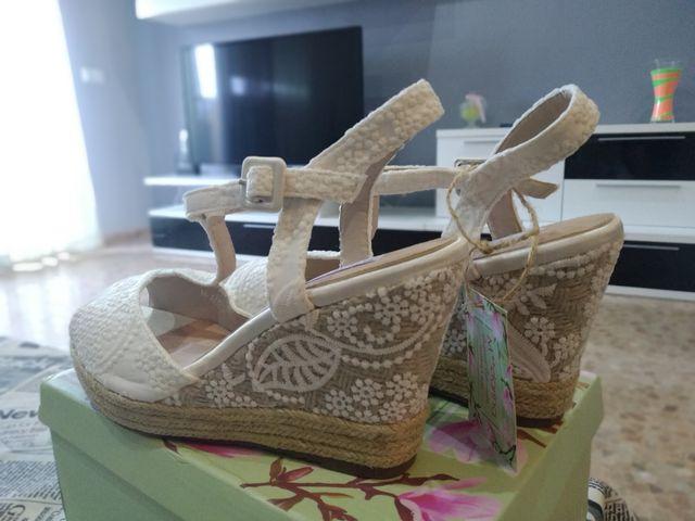 zapato novia