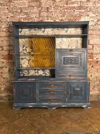 Mueble restaurado para salón