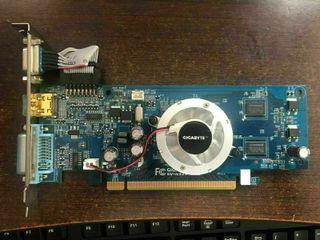 Tarjeta gráfica pci-express GeForce 512mb HDMI