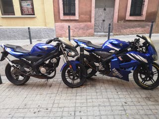 2 Yamaha tzr 50