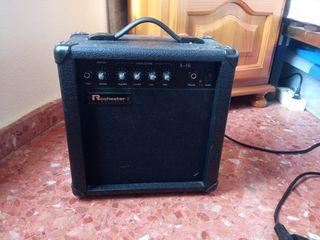 Amplificador Bajo eléctrico Rochester