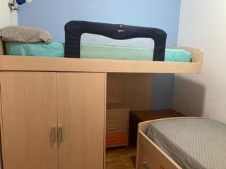 Habitación infantil juvenil