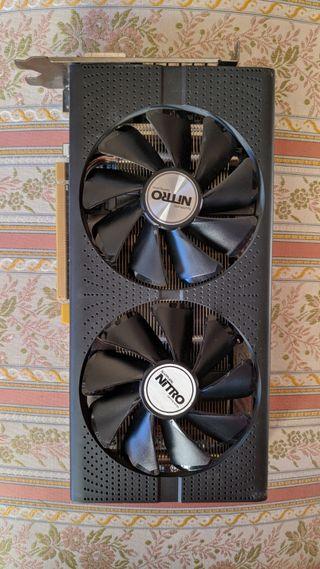 AMD Sapphire RX 480 4GB Nitro tarjeta grafica