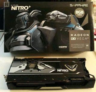Tarjeta Gráfica Sapphire Vega 64 Nitro Plus
