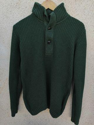 Jersey verde de algodón de H&M