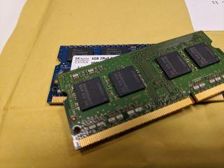 RAM 4gb DDR3 portátil