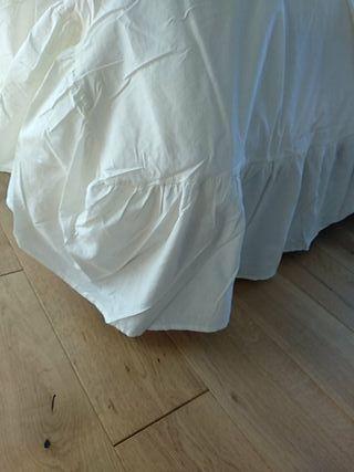 Precioso cubre somier o canapé co para cama de 150