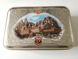 Caja metálica Trias. Montserrat