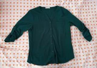 Blusa verde Okeysi